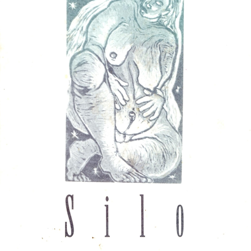 Woman Spinning on Her Axis, Silo Cover, Fall 1995