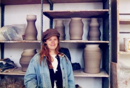 Bennington College Ceramics Studio in VAPA, 1990s