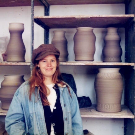 Bennington College Ceramics Studio in VAPA, 1990s
