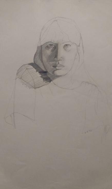 self-portrait-pencil-1994