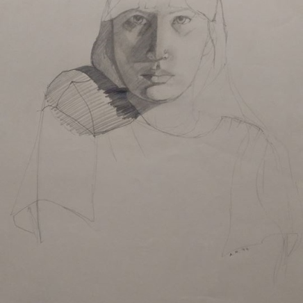self-portrait-pencil-1994